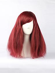 Wine Red 49cm Bouffant Punk Lolita Perücke