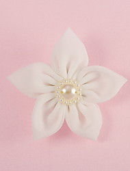 Wedding Décor Ivory Flower/Imitation Pearl Corsage