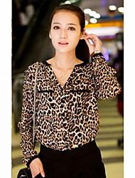 Women's Print Chiffon Shirt