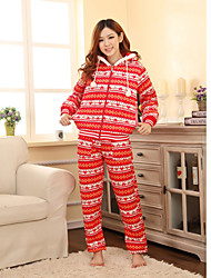 Women's Warm Hoodied Lounge Wear