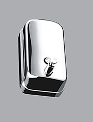 Contemporary Durable Stainless Steel Finish Soap Dispenser