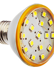 E27 4W 16x5050SMD 288-320LM 6000K Blanc Froid Ampoule spot LED (200-240V)