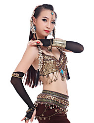 Dance Accessories Jewelry Women's Training Metal Gold / Silver Belly Dance Spring, Fall, Winter, Summer