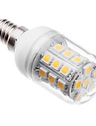 5W E14 LED лампы типа Корн T 30 SMD 5050 410 lm Тёплый белый AC 220-240 V