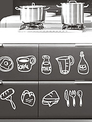 Still Life Kitchen Ware Wall Stickers