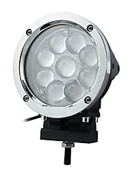 45W 9 LEDs Round Work Light
