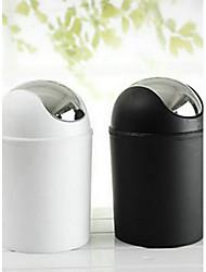Современный пластиковый контейнер для мусора
