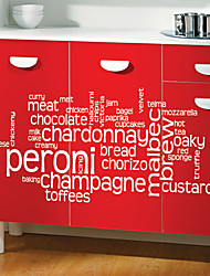 Cucina alimentari Wall Stickers
