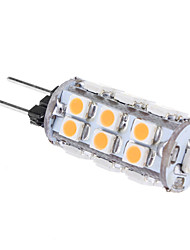 1W G4 LED Mais-Birnen T 24 SMD 3528 80 lm Warmes Weiß AC 12 V