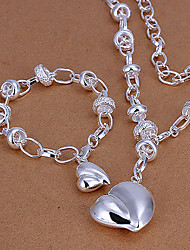 Green copper hanging peach heart piece LKNSPCS014(buy 1 get 3 free gifts)