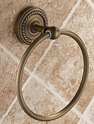 "Towel Ring Antique Brass Wall Mounted 153 mm (6.02 "") Brass Antique"