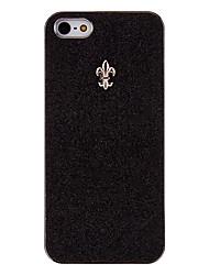 schimmerndes Puder mit elegant Speerspitze harter Fall für iphone 5/5s (optional Farben)