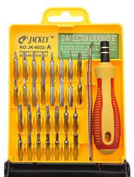 32 Dans 1 outil électronique de précision Jeu de tournevis JK-6032-A