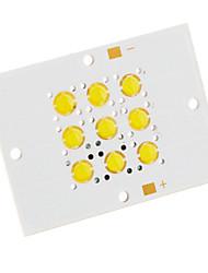 9W 500LM 6500K Cool White LED Emitter on 38mm Base (11-12V)