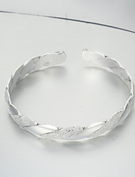 Rich Long Silver 990 Silver Fashion Bracelet