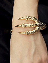 European and American punk style jewelry retro texture Alternative talons bracelet (random color)