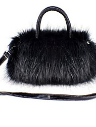 Stylish Faux Fur Top Handal Casual Handbags(More Colors)