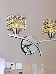 Modern Crystal Wall Light In 2 Lights 220-240V