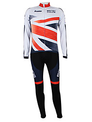 Kooplus2013 Championship Jersey UK Polyester&Lycra&Elastic Fabric Cycling Suits(Shirt + Bib-Pants)