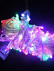 10m lang 100 LED Lichterkette für Weihnachtsdekoration (verschiedene Farben)