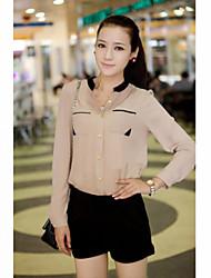 Women's Shirt , Cotton Casual