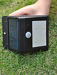 Solar Powered 4 LED PIR sensore di luce esterna (CIS-57164)