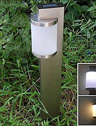 Weiß Solar-Edelstahl-Stake-Licht-Garten Wegbeleuchtung (cis-57159)