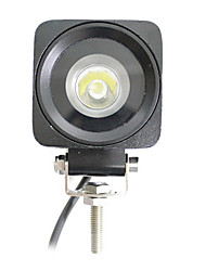 1 LEDs 10W Square Work Light