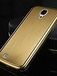Schmales Schutzgehäuse aus gebürstetem Aluminium für Samsung Galaxy S4 19500 (0,5mm; mehrere Farben)