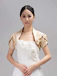Party/Evening / Casual Chiffon Coats/Jackets Short Sleeve Wedding  Wraps