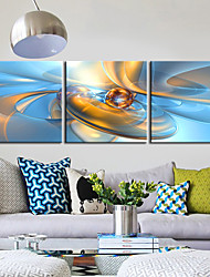 Stretched Canvas Art Abstract Fantasy Ball Set of 3