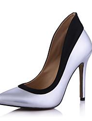 Elegante couro envernizado Stiletto Heel Bombas Partido Shoes