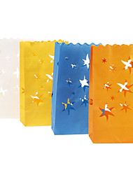 Wedding Décor Stars Paper Lantern Luminary For  Party Decoration - Set of 10 (More Colors)