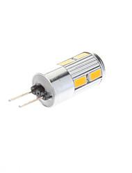 5W G4 Spot LED 10 SMD 5730 350-380 lm Blanc Chaud / Blanc Froid AC 12 V
