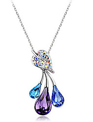 Charming Alloy With Crystal&Colorful Rhinestone Women's Necklace(More Colors)