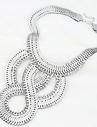 Fish Scale übertriebene Halskette