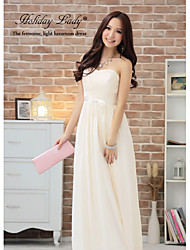 Women's Dresses , Chiffon Party Holiday Lady
