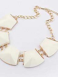 geometría irregular collar de gargantilla plaza estilo europeo (color surtidos)