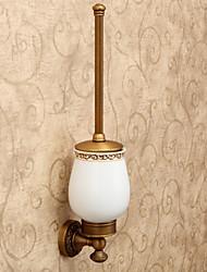 Antigas lindos acessórios do banheiro incluído escova de vaso sanitário e escova de vaso sanitário Cup