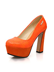 Women's Chunky Heel Pumps & Platform Heels Party Shoes(More Colors)