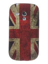 Das Vereinigte Königreich Muster TPU Back Cover für Samsung Galaxy S3 I8190 Mini