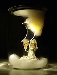 Lover Design LED Solar Powered Garden Light -Solar Table Light- Solar Small Night Light In Jar Design