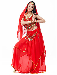 Beautiful Performance Chiffon Belly Dance Outfits For Ladies(More Colors)