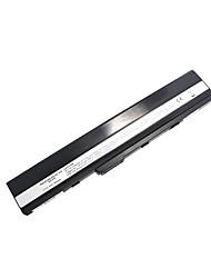 7800mAh substituição da bateria do portátil para ASUS A52Series K42Series K52Series K42JK K52 9cell - Preto