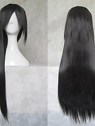 Naruto Uchiha Itachi Black long Straight Cosplay Wig