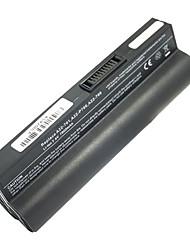 5200mAh substituição da bateria do portátil para Asus EEE PC701 Eee PC 2G Surf Eee PC 4G/8G A24-P701 90 OA001B1100 - Preto