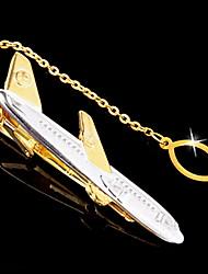 cadeau cravate groomsman clip-avion