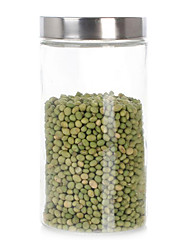 Vasilha de vidro 1500ML com aço inoxidável (201) Lid