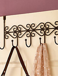 "15"" Country Style Metal Door Hook"