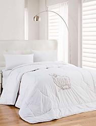 100% Cotton Jacquard Solid Heavyweight Wool Comforter